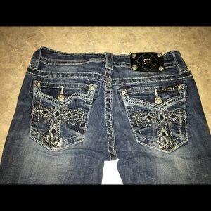 Miss Me bootcut jeans size 27/34